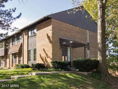 Elkridge Townhouse For Sale: 5860 Steepridge Drive #20-10