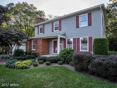 Ellicott City Single Family Home For Sale: 3122 Hearthstone Road