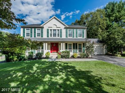 Ellicott City Single Family Home For Sale: 9975 Old Mill Road