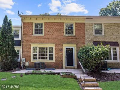 Laurel Townhouse For Sale: 9776 Whiskey Run