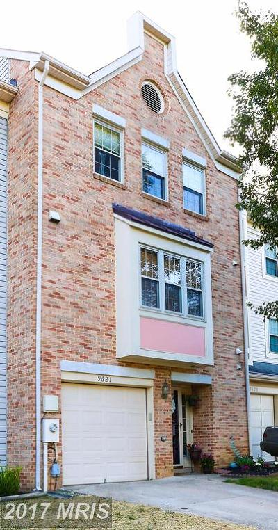 Laurel Townhouse For Sale: 9621 Hadleigh Court