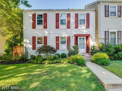 Columbia Townhouse For Sale: 8847 Blade Green Lane