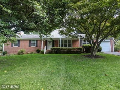 Ellicott City Single Family Home For Sale: 3225 Ramblewood Road