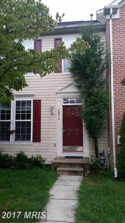 Townhouse For Sale: 8870 Papillon Drive