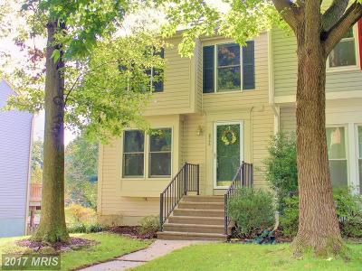 Laurel Townhouse For Sale: 8346 Mary Lee Lane