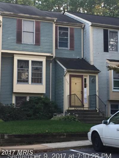 Laurel Townhouse For Sale: 9332 Cabot Court