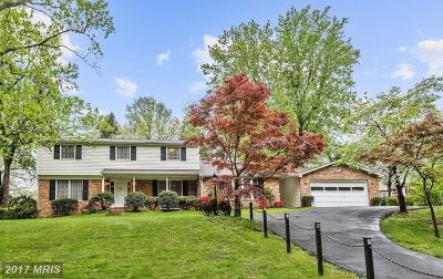 Columbia Single Family Home For Sale: 6718 Groveleigh Drive