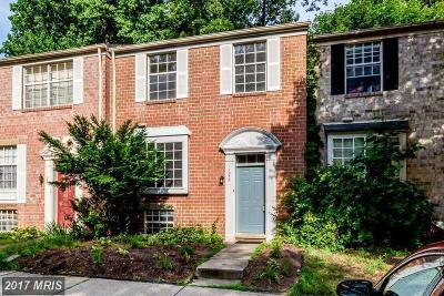 Columbia Townhouse For Sale: 11858 New Country Lane