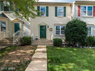 Laurel Townhouse For Sale: 9220 Howland Road
