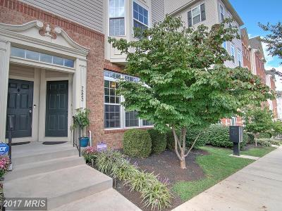 Elkridge Townhouse For Sale: 7223 Darby Downs