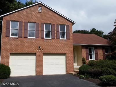 Ellicott City Single Family Home For Sale: 10070 Carillon Drive
