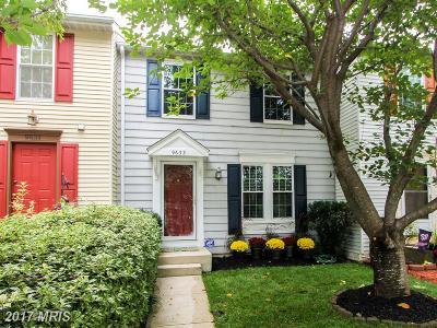 Laurel Townhouse For Sale: 9633 Glendower Court