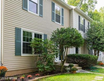 Columbia Townhouse For Sale: 11517 Little Patuxent Parkway