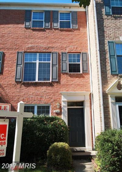 Columbia Townhouse For Sale: 6360 Wind Rider Way