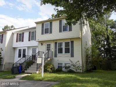 Elkridge Townhouse For Sale: 7857 Marioak Drive