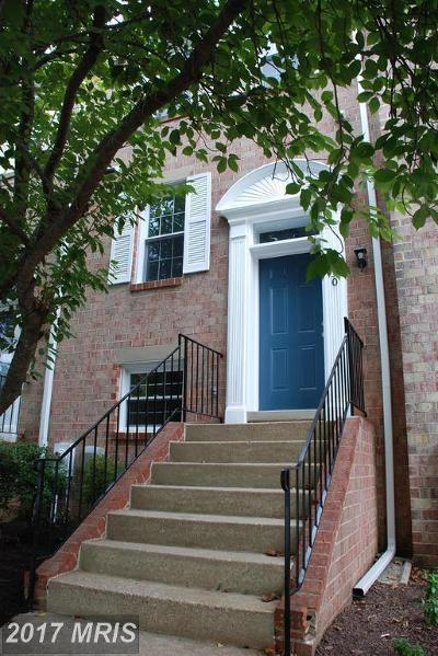 Columbia Townhouse For Sale: 9830 Softwater Way