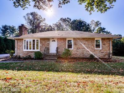 Ellicott City Single Family Home For Sale: 2905 Ramblewood Road
