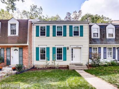 Columbia Townhouse For Sale: 8995 Queen Maria Court