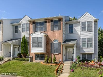 Ellicott City Townhouse For Sale: 3231 Sonia Trail #73