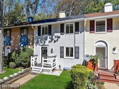 Columbia Townhouse For Sale: 5479 Endicott Lane