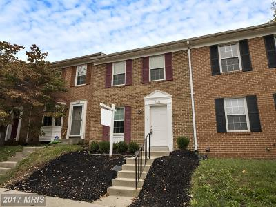 Howard Townhouse For Sale: 6264 Ducketts Lane #20-5