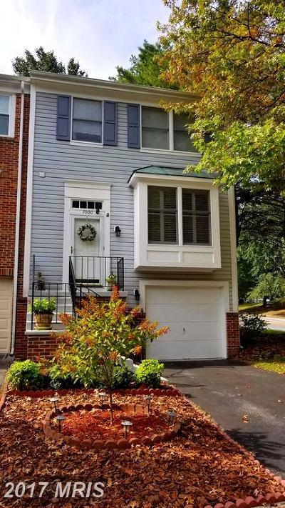 Howard Townhouse For Sale: 7000 Copperwood Way