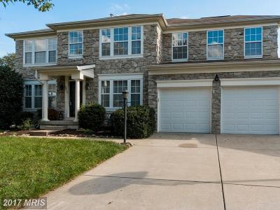 Ellicott City Single Family Home For Sale: 8512 Union Mills Court