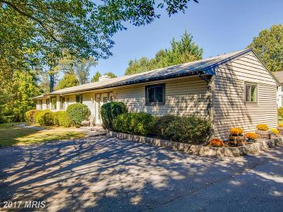 Ellicott City Single Family Home For Sale: 8436 Horseshoe Road