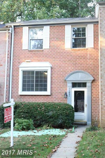Columbia Townhouse For Sale: 11864 Blue February Way