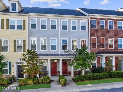 Ellicott City Townhouse For Sale: 5715 Rosanna Place
