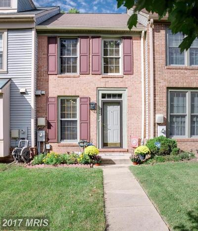Jessup Townhouse For Sale: 8937 Rosewood Way
