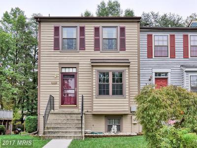 Laurel Townhouse For Sale: 9734 Knowledge Drive