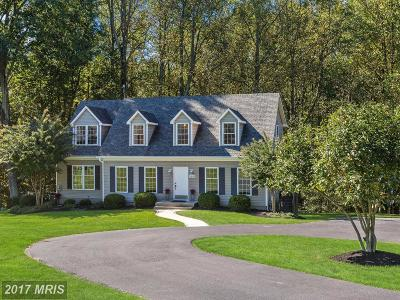 Mount Airy Single Family Home For Sale: 18135 New Cut Road