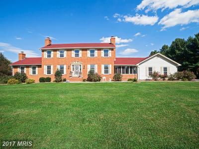 Woodbine Single Family Home For Sale: 16190 A E Mullinix Road