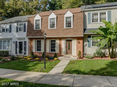 Howard Townhouse For Sale: 8934 Blade Green Lane