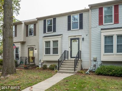 Columbia Townhouse For Sale: 6360 Early Red Court