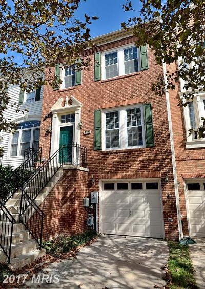 Howard Townhouse For Sale: 5921 Meadow Rose