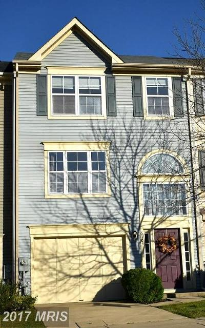 Columbia Townhouse For Sale: 6105 Honeycomb Gate