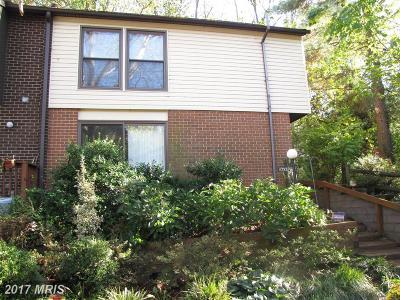 Columbia Townhouse For Sale: 10559 Jason Lane