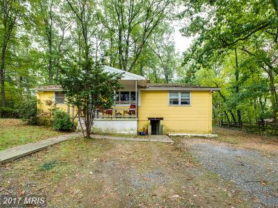 Columbia Single Family Home For Sale: 8669 Old Annapolis Road
