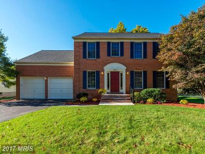 Ellicott City Single Family Home For Sale: 10205 Tuscany Road