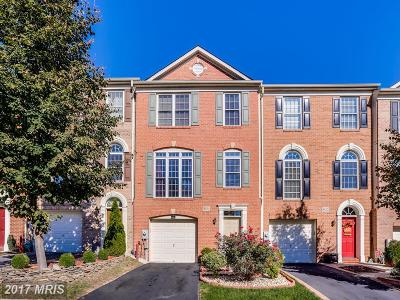 Ellicott City Townhouse For Sale: 8854 Montjoy Place