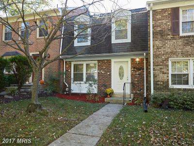 Columbia Townhouse For Sale: 5732 Yellowrose Court