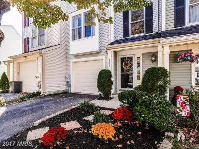 Columbia Townhouse For Sale: 6333 Early Red Court