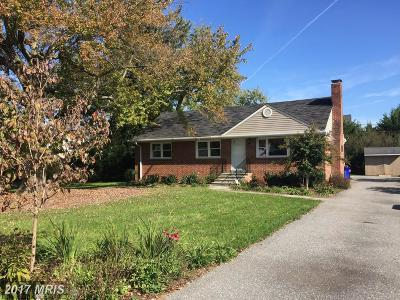 Ellicott City Single Family Home For Sale: 3613 Ligon Road