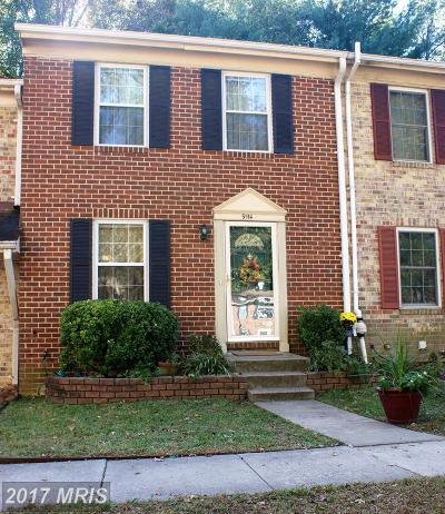Townhouse For Sale: 9114 Lambskin Lane