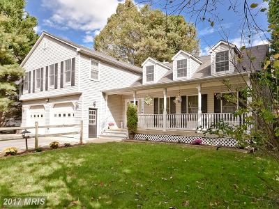 Laurel Single Family Home For Sale: 9433 All Saints Road