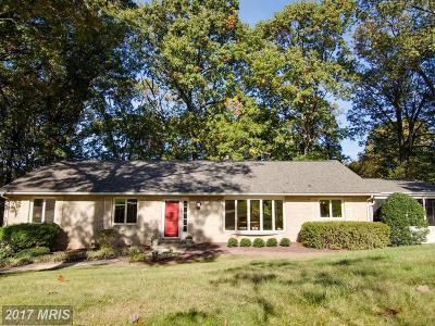 Ellicott City Single Family Home For Sale: 2622 Turf Valley Road