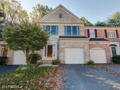 Ellicott City Townhouse For Sale: 8506 Timber Hill Court