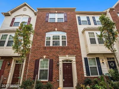 Elkridge Townhouse For Sale: 7435 Rigby Place